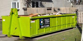choosing a dumpster size